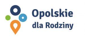 Logo programu Opolskie dla Rodziny