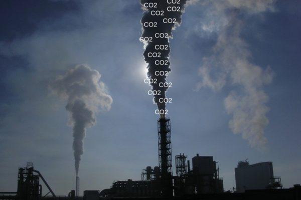Emisja dwutlenku węgla do powietrza