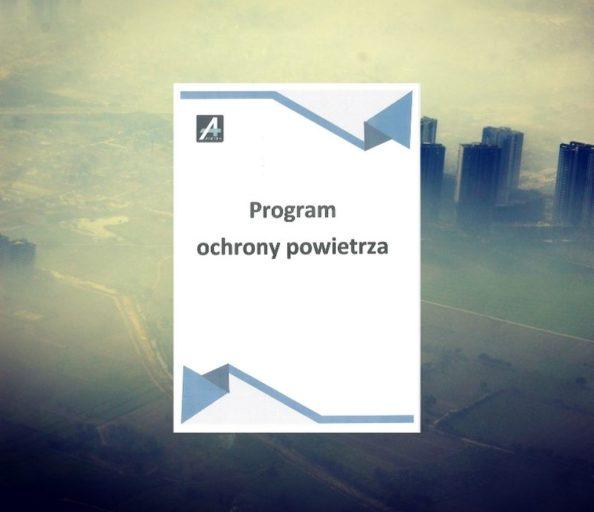program ochrony powietrza zanieczyszczonego województwa