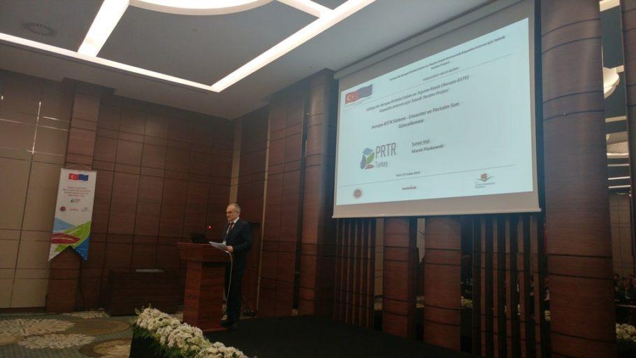 prelekcjadla tureckiego ministerstwa środowiska i urbanizacji