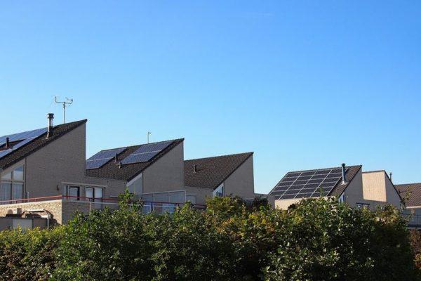 Budynki zaopatrywane w energię elektryczną