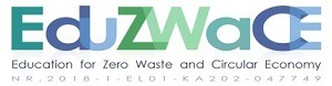 logo education for zero waste and circular economy