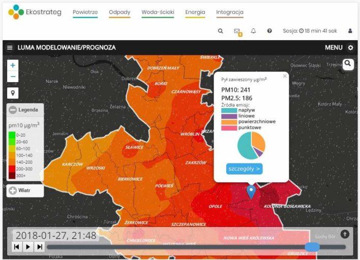 aplikacja lokalne uzupełniające modelowanie atmosfery